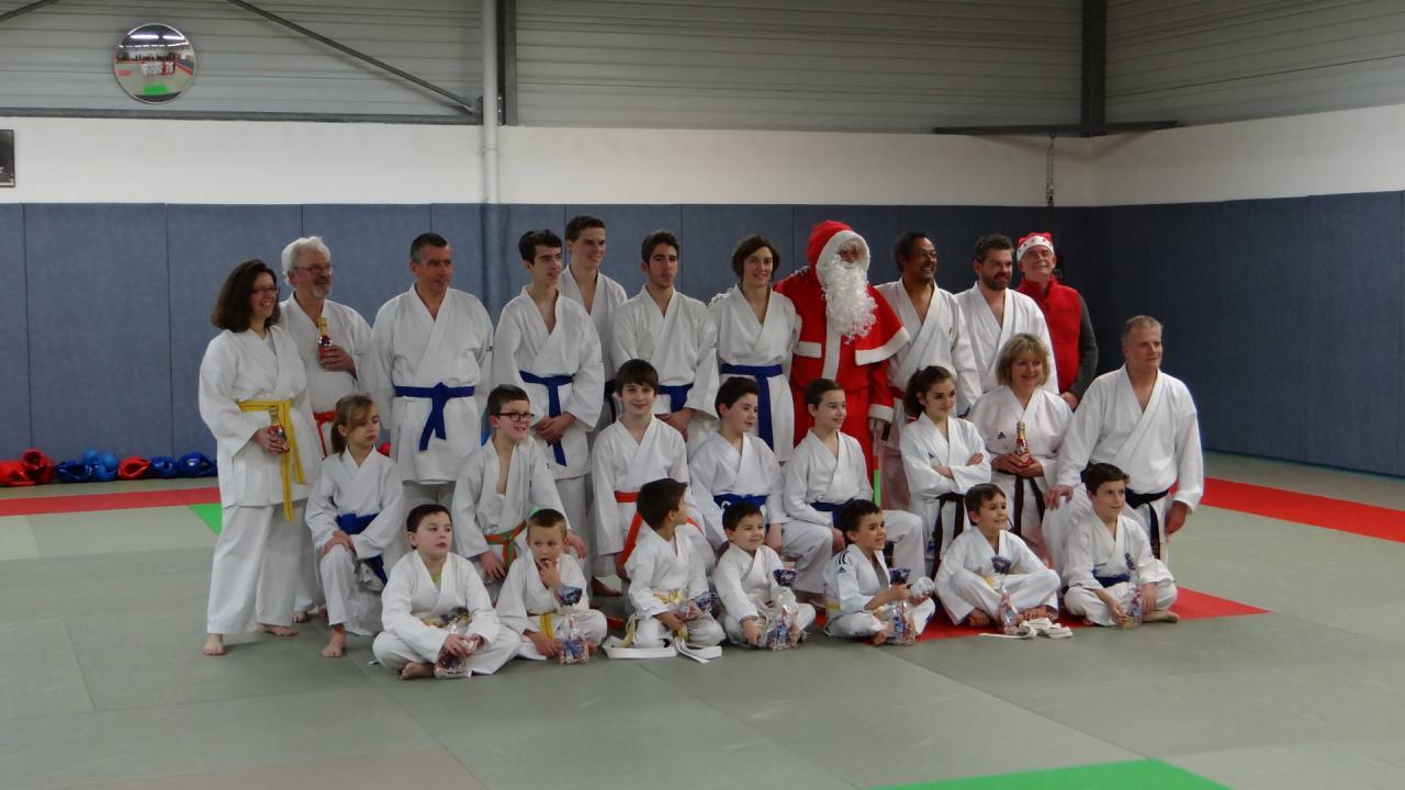 Photos de Groupe avec le Père Noël
