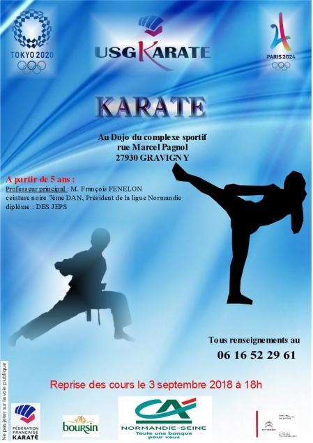 A5 flyers karate