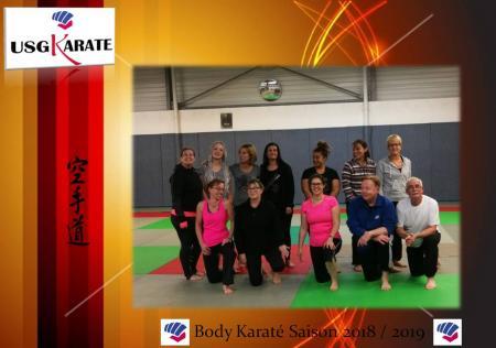 Presentation body karate 2018