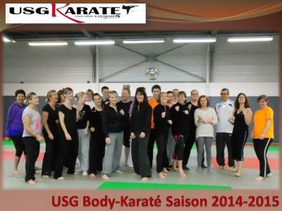 Usg body karate saison 2014 2015