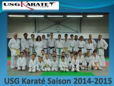 Usg karate saison 2014 2015